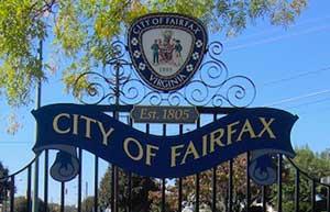 Gate of Fairfax, VA City